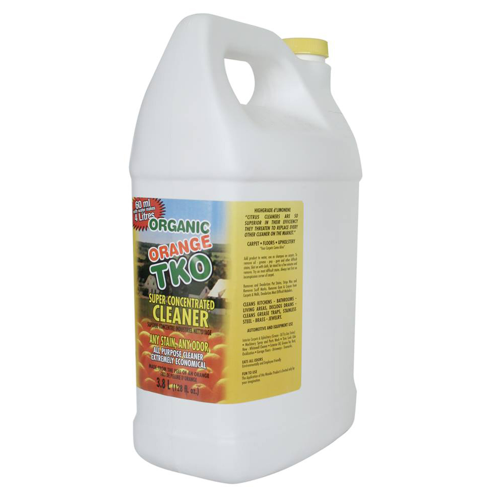 Orange Tko Super Concentrated All Purpose All Natural Cleaner 64
